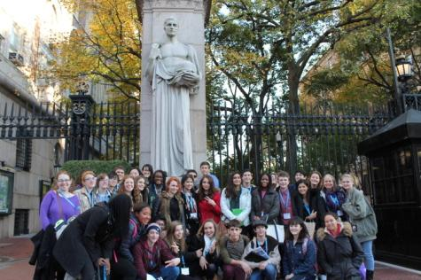 Students attend the CSPA conference