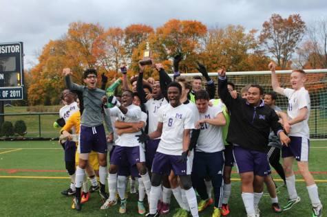 Boys Varsity Soccer wins FAA championship