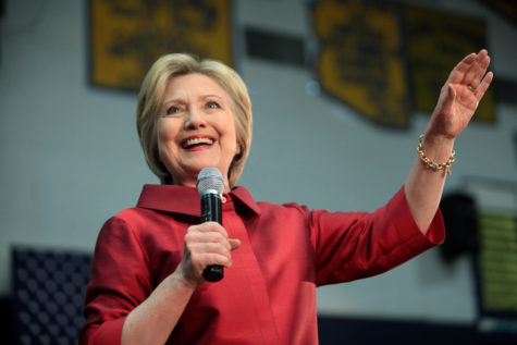 Clinton sweeps away competition in Masters' mock election