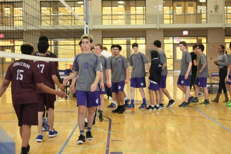 Varsity Boys Volleyball 4/25/17