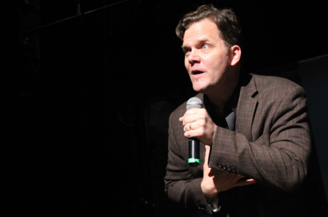 The importance of beauty and truth: workshopping with Taylor Mali