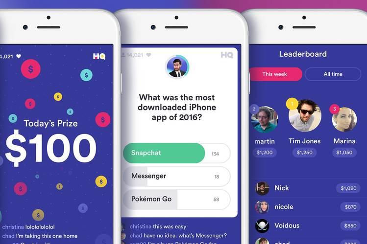 HQ app sweeps Masters