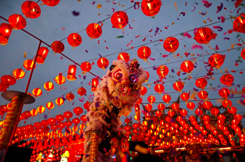 Dragon Club Celebrates the Chinese New Year