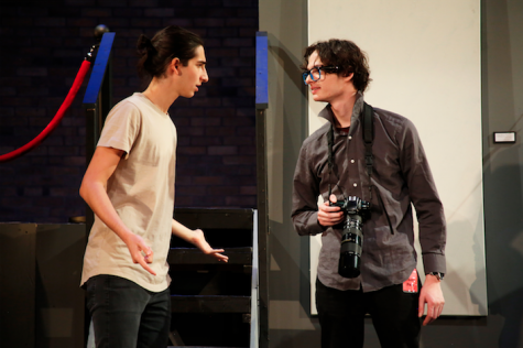 "Students exhibit creativity in fall play ""Museum"""