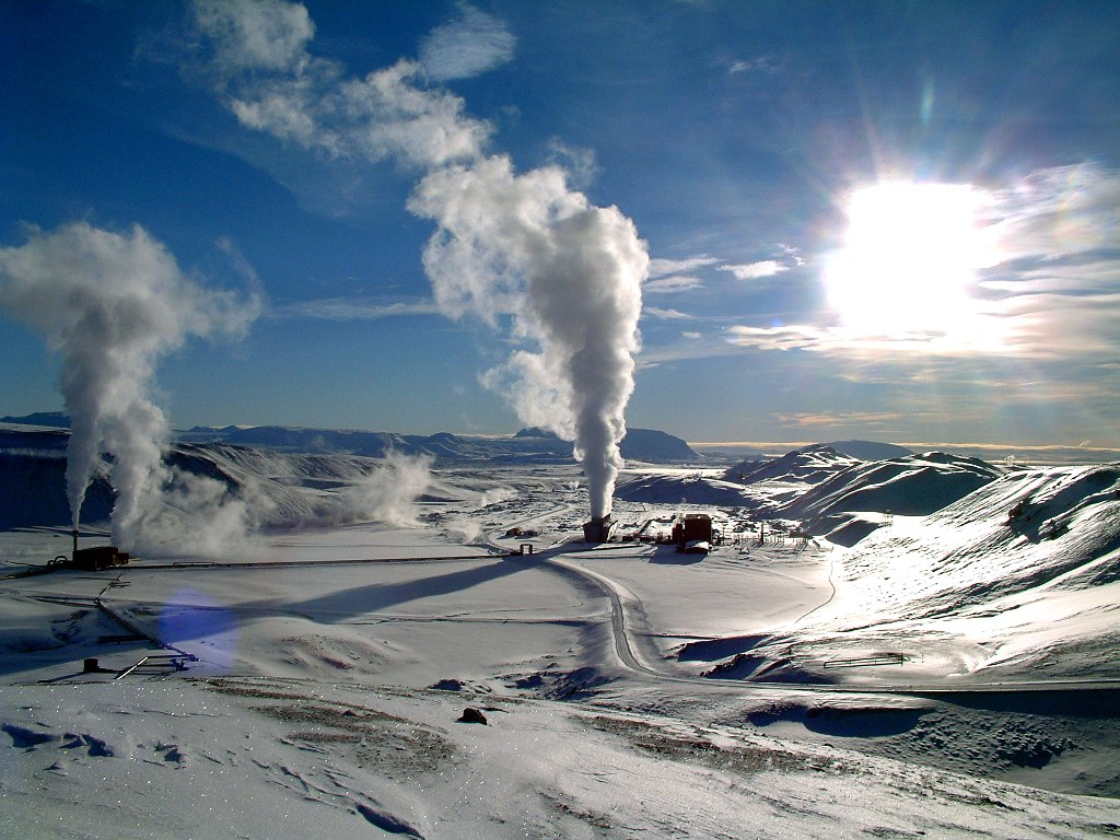 Krafla geothermal power station