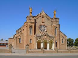 Jamestown Catholic Church in rural Australia.