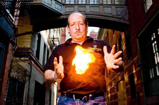Richie Magic: A Dedicated Magician and Local Legend