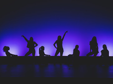 Dance Company members pose during a hip-hop number. This year