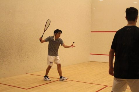 Boys' varsity squash sets sights on National Championship
