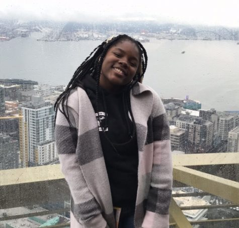 Shamira Guillaume is running for one of two 2020-2021 co-chair slots. She hopes to make morning meetings entertaining and informative, as well as include more students in discussions related to executive committee decisions.