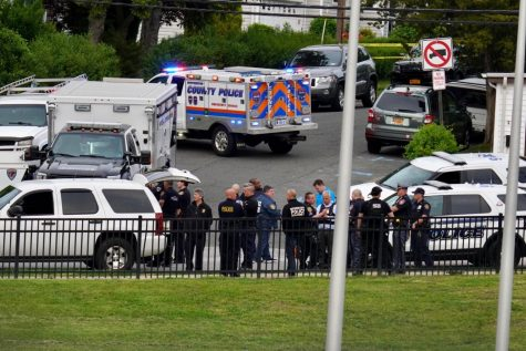 SWAT teams from across Westchester county respond to a call from a Dobbs Ferry residence on Myrtle Ave. The call turned out to be a