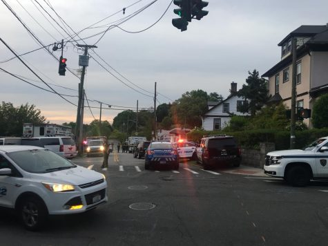 SWAT team respond to reports of a barricaded person in Dobbs Ferry. According to the Dobbs Ferry Police Department later in the evening, reports of the barricaded person were unfounded.