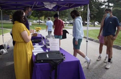 Students welcomed back to campus for first time since March
