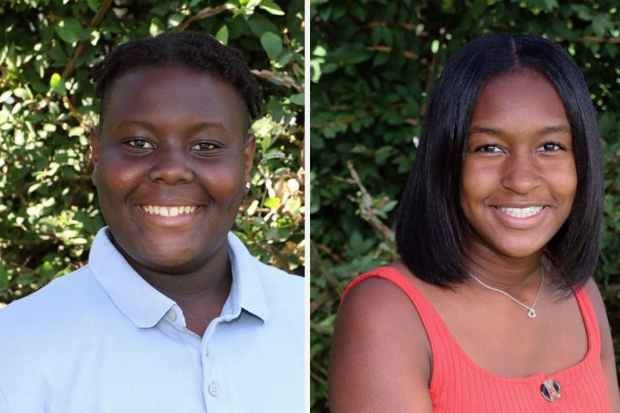 Juniors Maddy Blake and Caleb Jakes have been working on a mentorship program for students of color for months. The program will focus on supporting and empowering specifically underclassmen students of color.