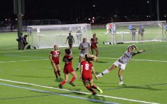 The Eastern Football Club 2004 girls team defends a shot against SUSA Football Club in a game in Nov. 2020. The game, which was played as part of the SUNY Purchase Tournament, ended in a 1-1 draw.