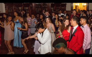 Prom from 2019 being held in Estherwood Mansion.