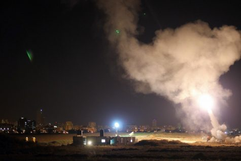 The Israeli Defense Forces Iron Dome system intercepts Gaza rockets aimed at central Israel. In recent days, Hamas has fired over 1,000 rockets toward Israel; the IDF has also launched airstrikes on Gaza, killing over 50 Palestinians. As tension escalates in Israel, individuals around the world are taking to social media to voice their opinions on the conflict.