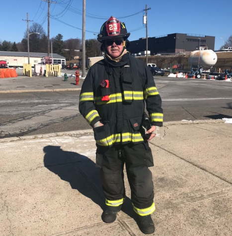 Director of Facilities Craig Dunne was recently promoted to captain of Tower Ladder 23 at the Dobbs Ferry Fire Department.