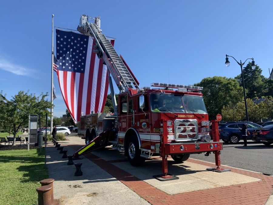 Dobbs Ferry holds service commemorating 20th anniversary of 9/11